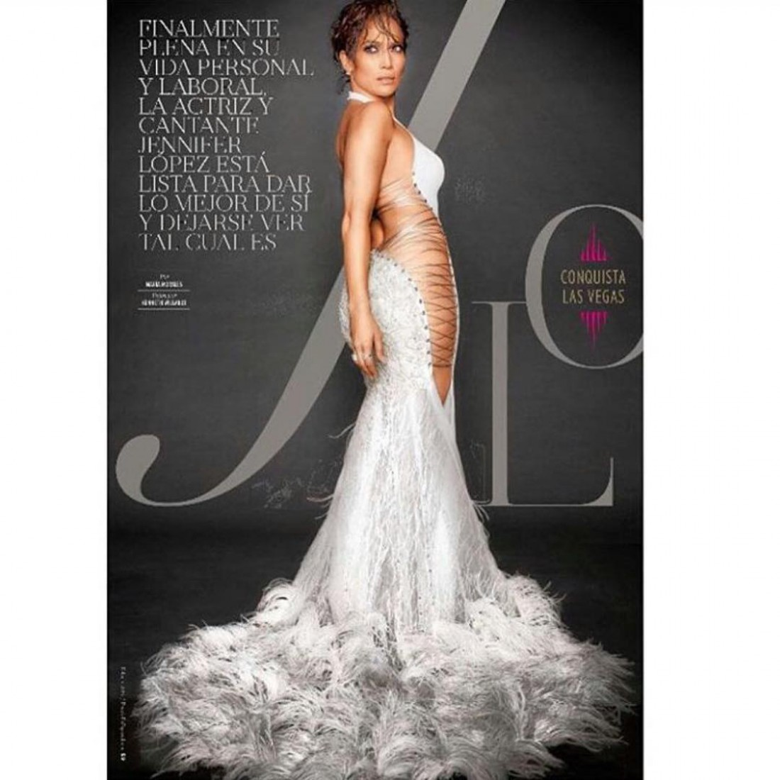 Дженнифер Лопес снялась для журнала People