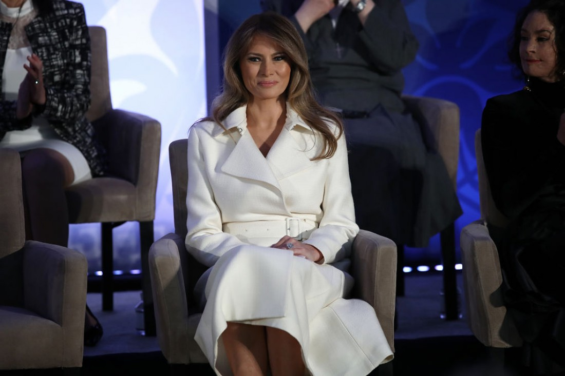 International Women of Courage: Меланья Трамп