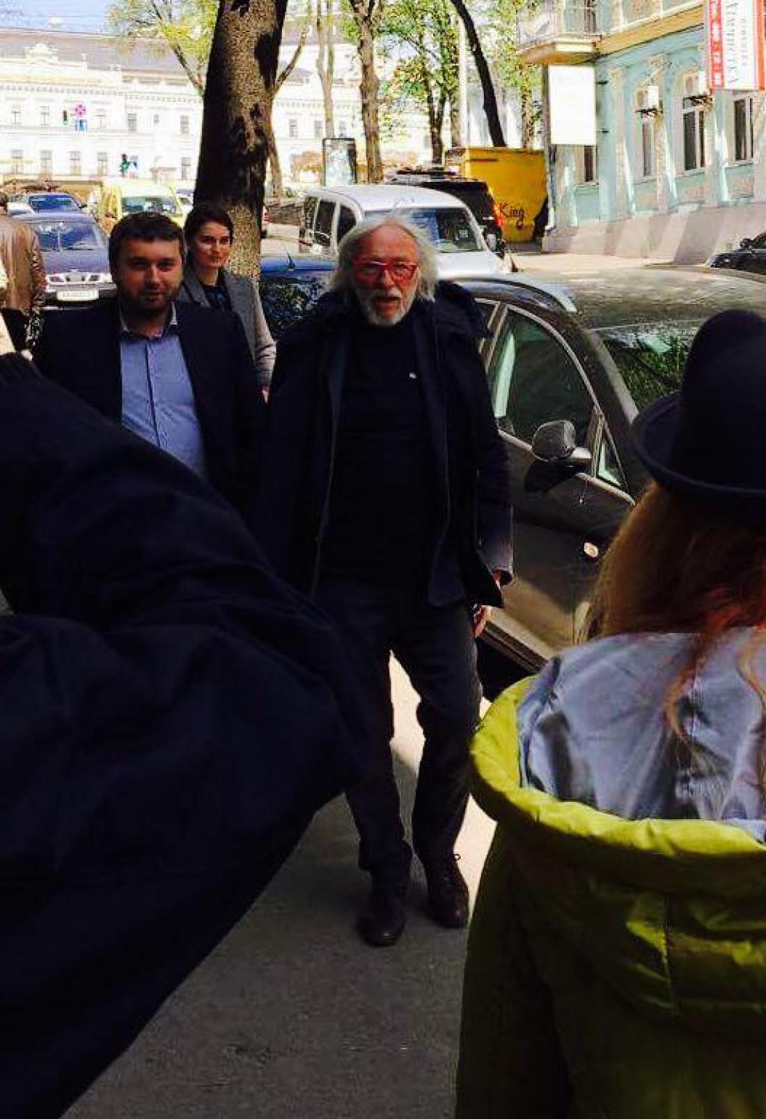 Пьер Ришар в Киеве