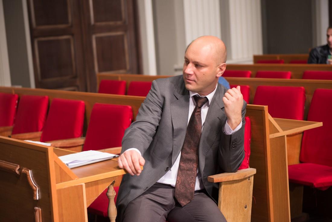 Актер Дмитрий Суржиков, сыгравший главную роль в сериале
