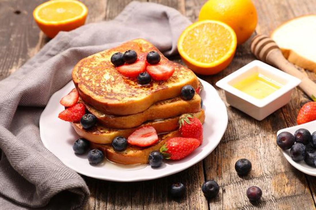 Рецепт французских тостов в микроволновке