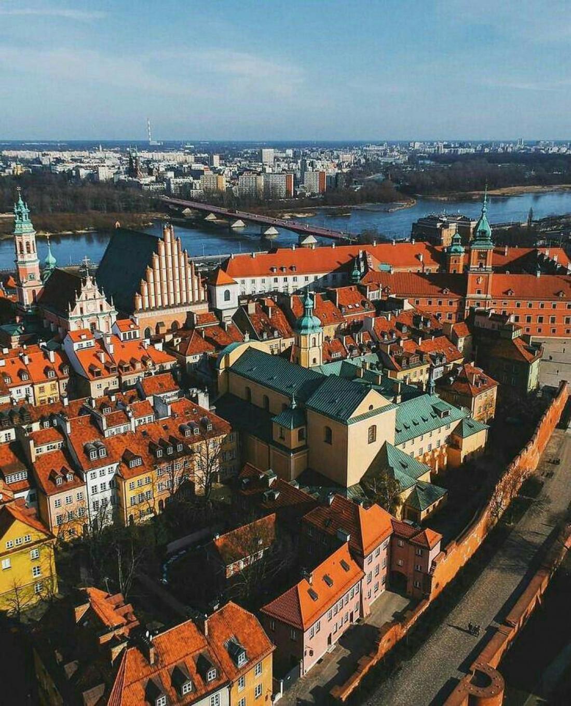 Город дворцов и замков: Виртуальное путешествие по Варшаве