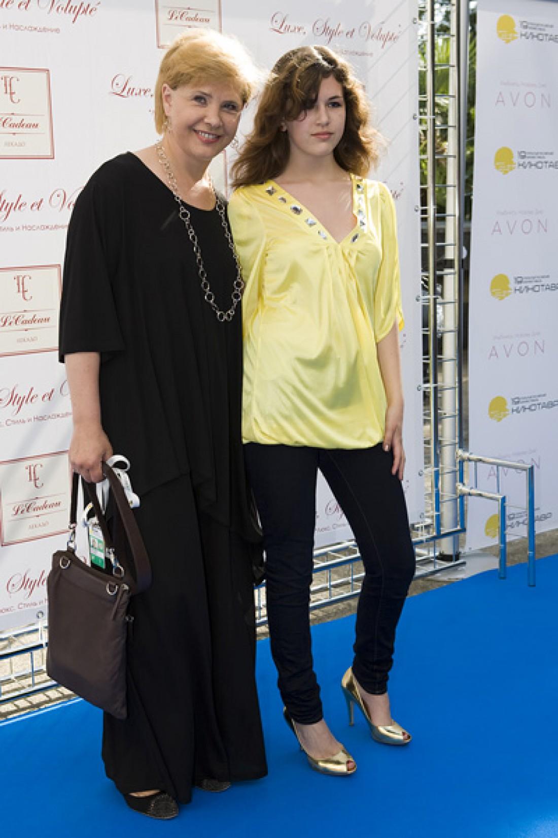 Татьяна Догилева с дочкой Катей