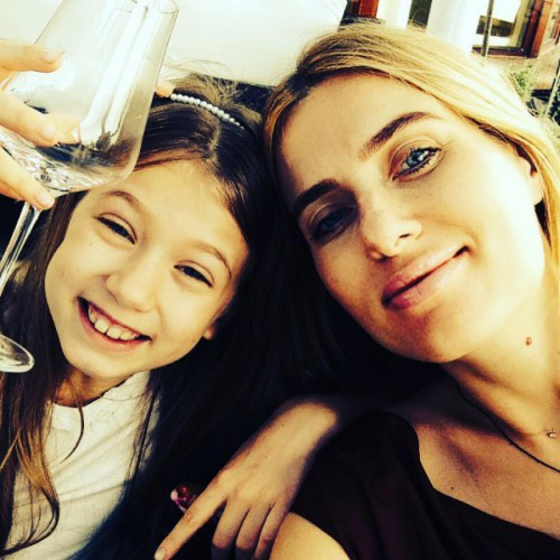 Оля Горбачева с дочкой Полиной