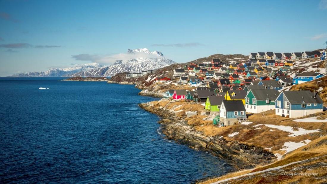 Гренландия – город Нуук