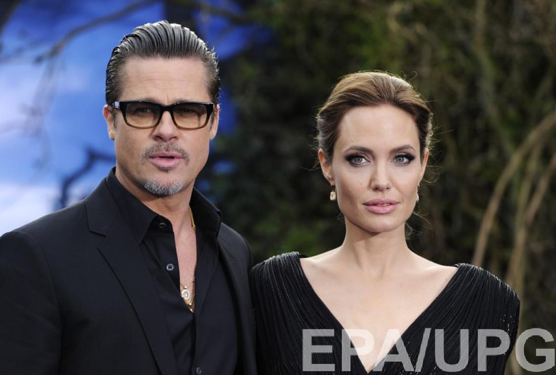 Джоли и Питт разводятся: Анджелина Джоли и Брэд Питт
