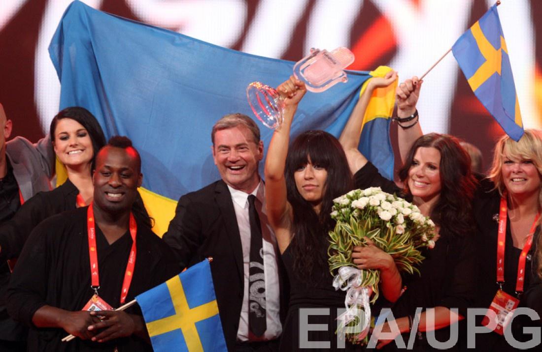 Loreen на Евровидении 2012