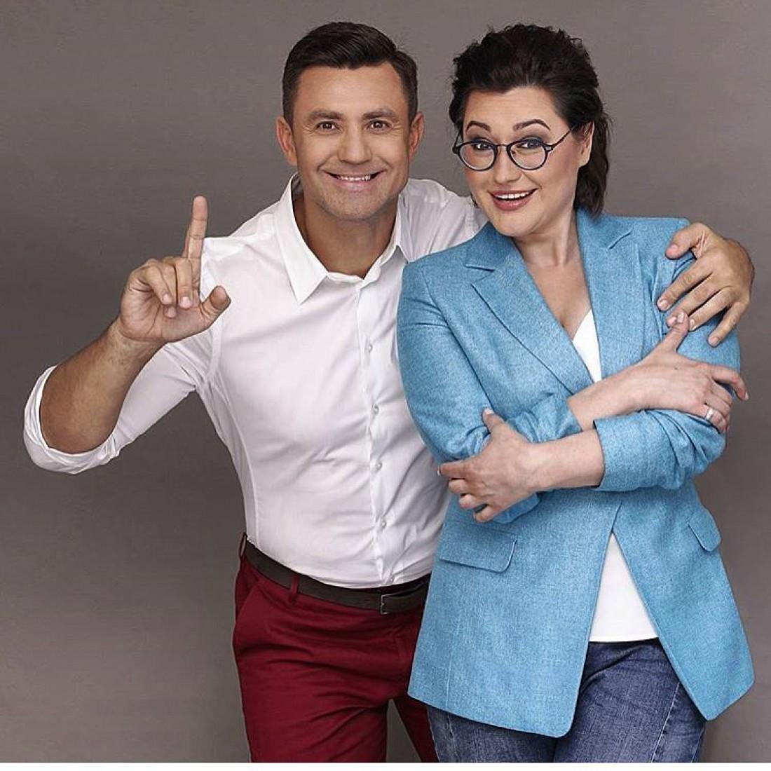 Николай с Анной Жижой