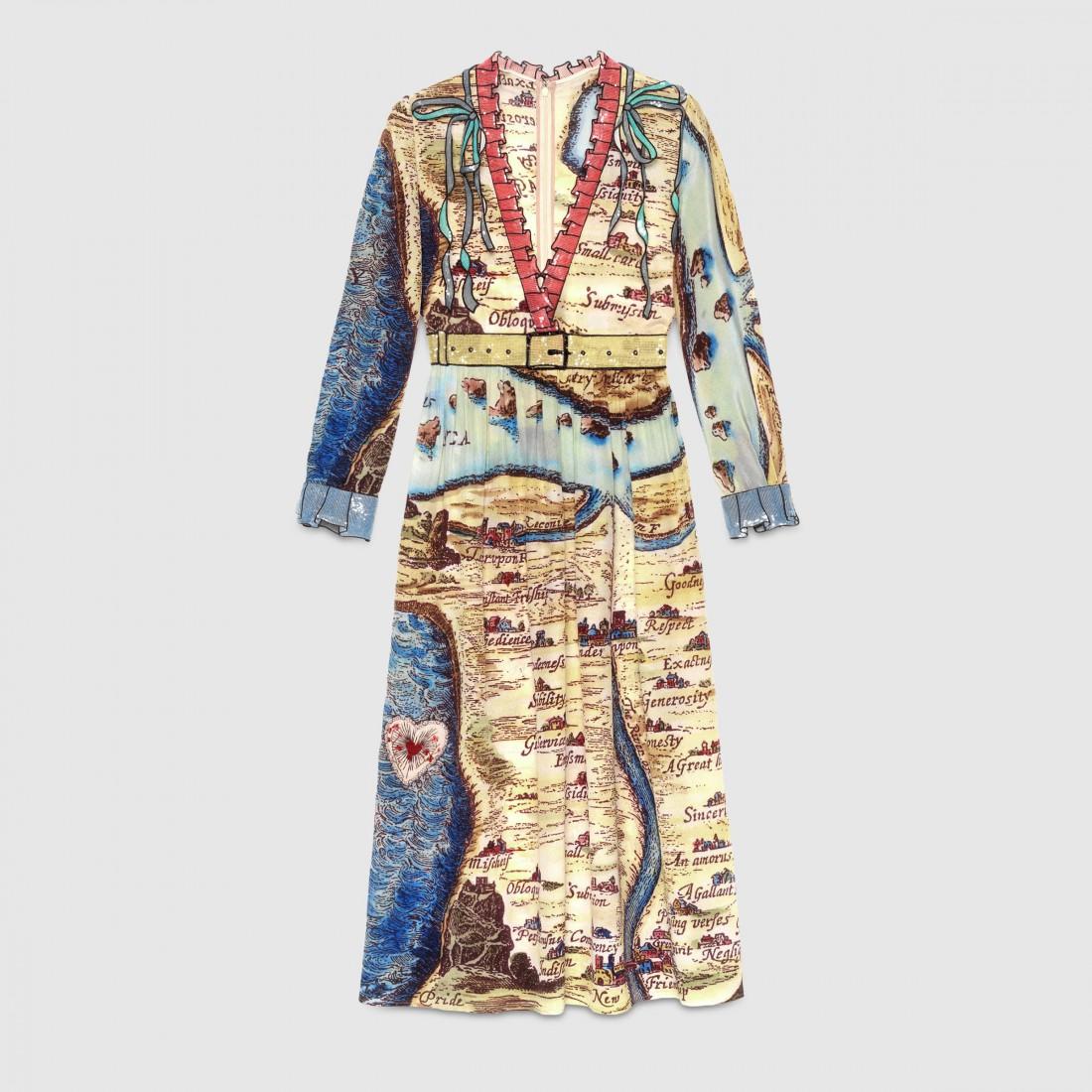 Платье Мишель Обама от Gucci