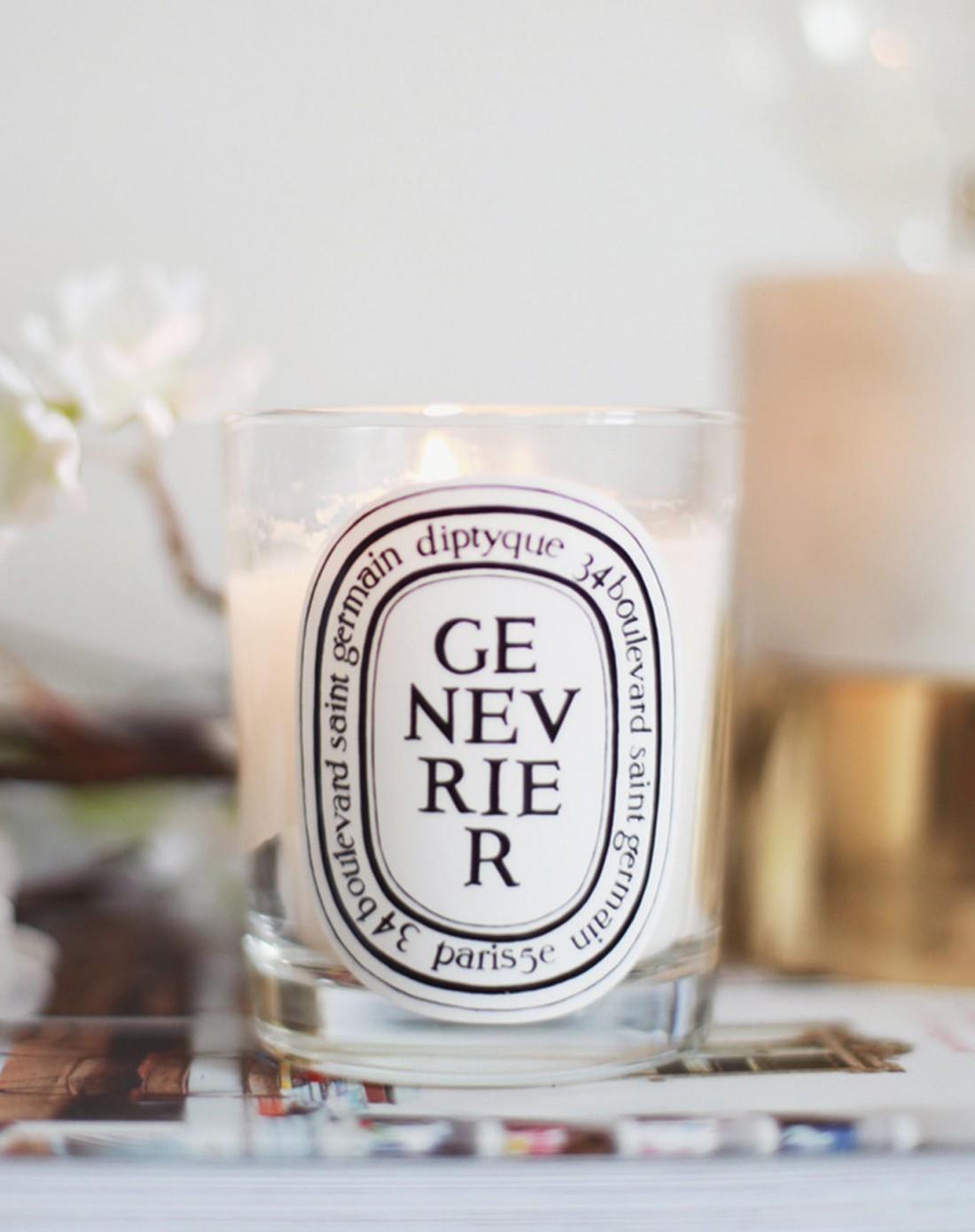 Романтические ароматические свечи