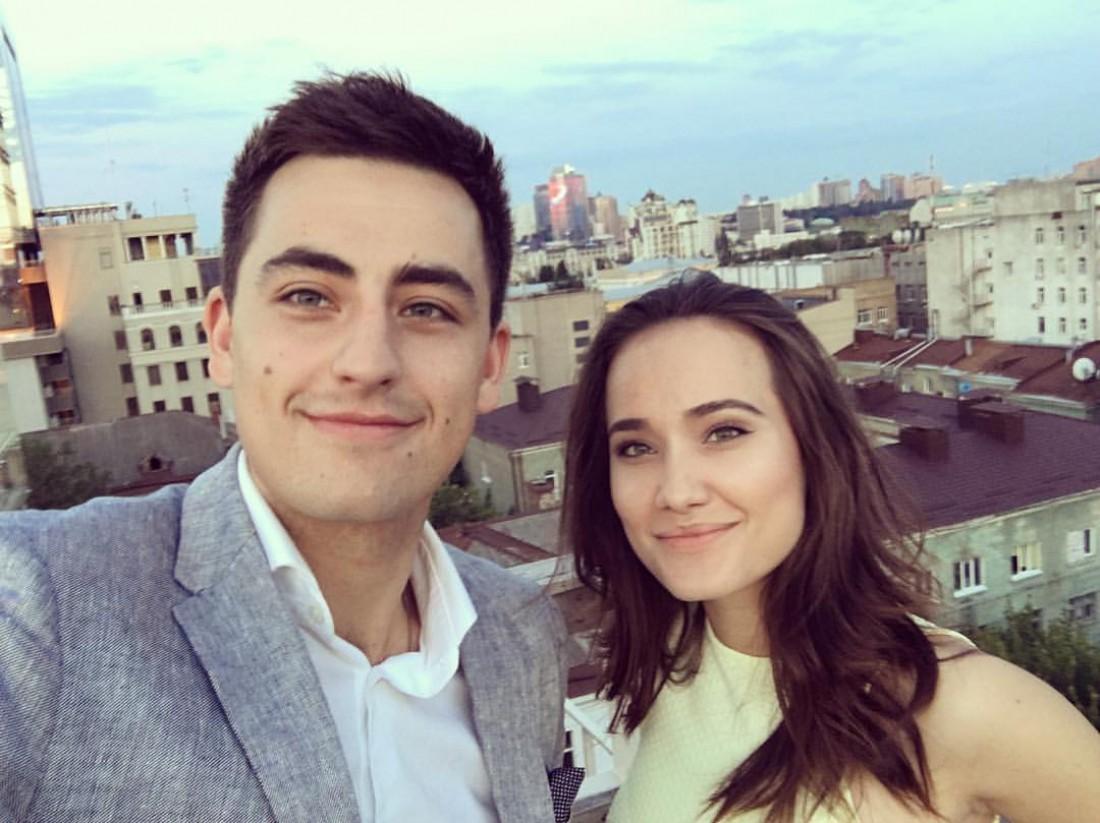 Ефим Константиновский с женой Владой