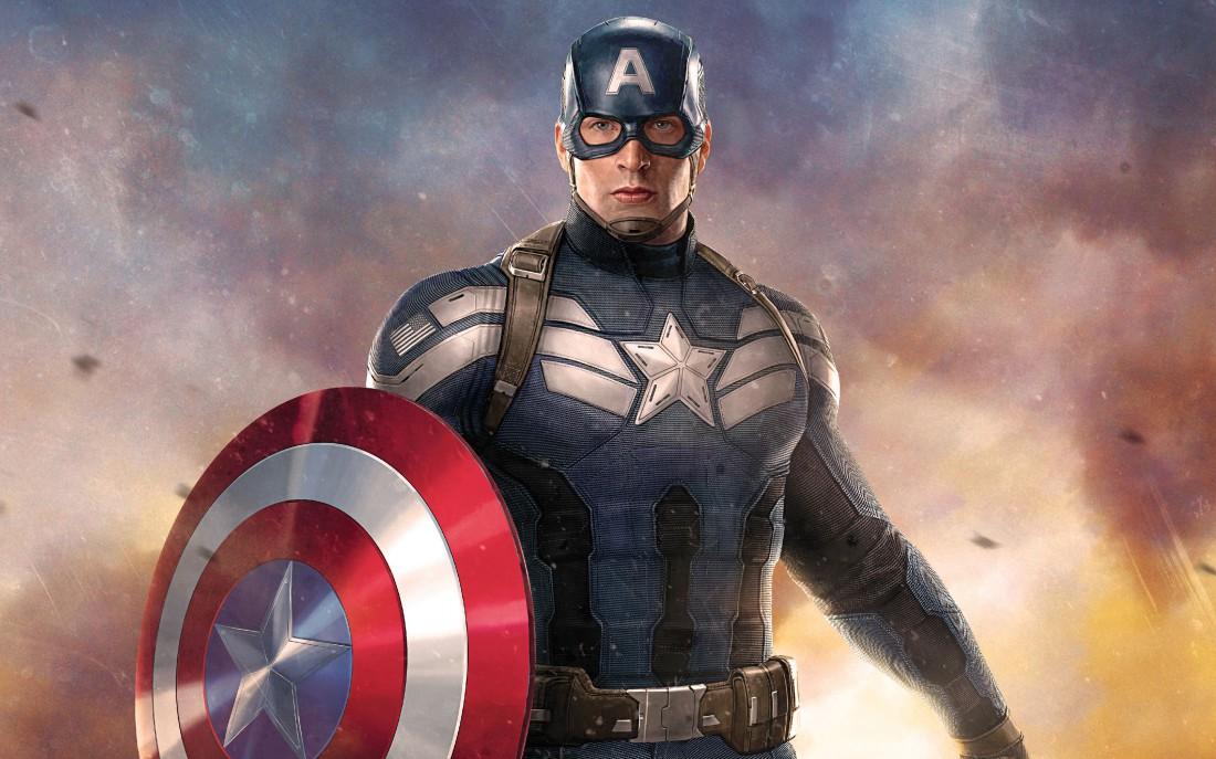Постер к фильму о Капитане Америка