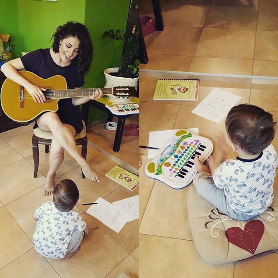 Певица с сыном