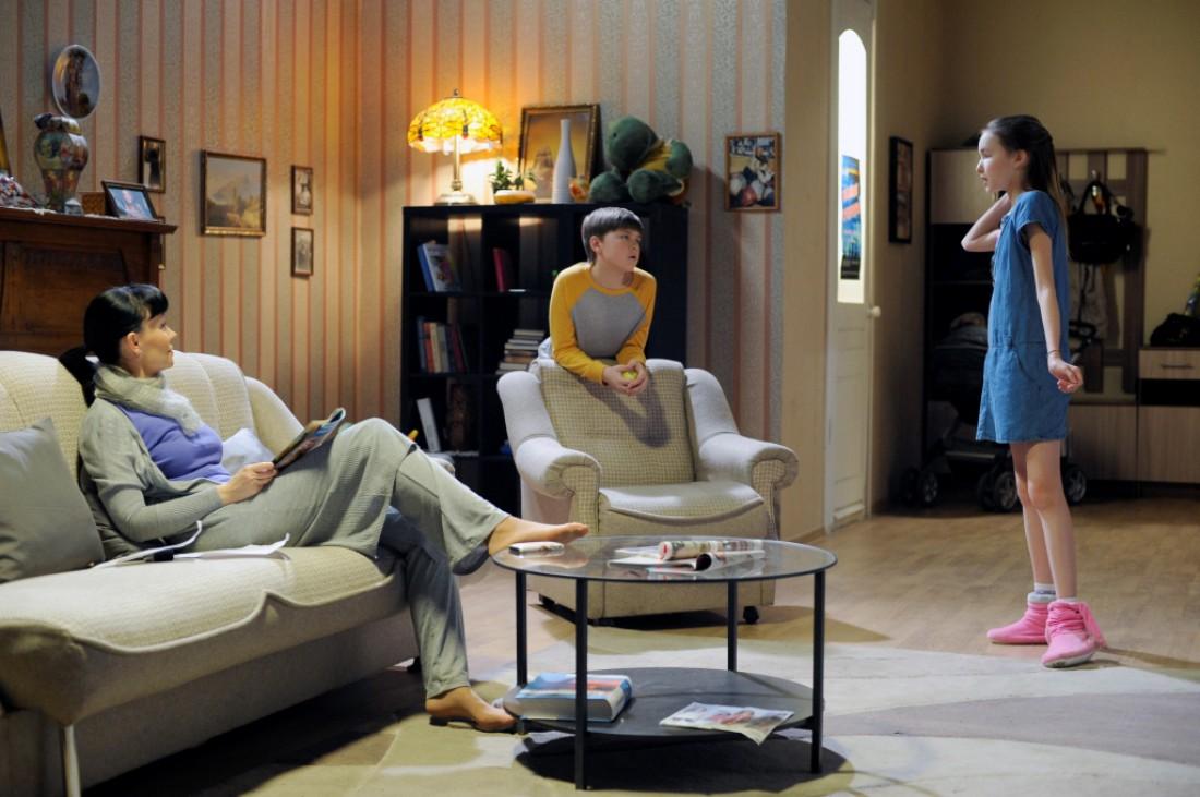 Кадр из сериала Любовь по закону