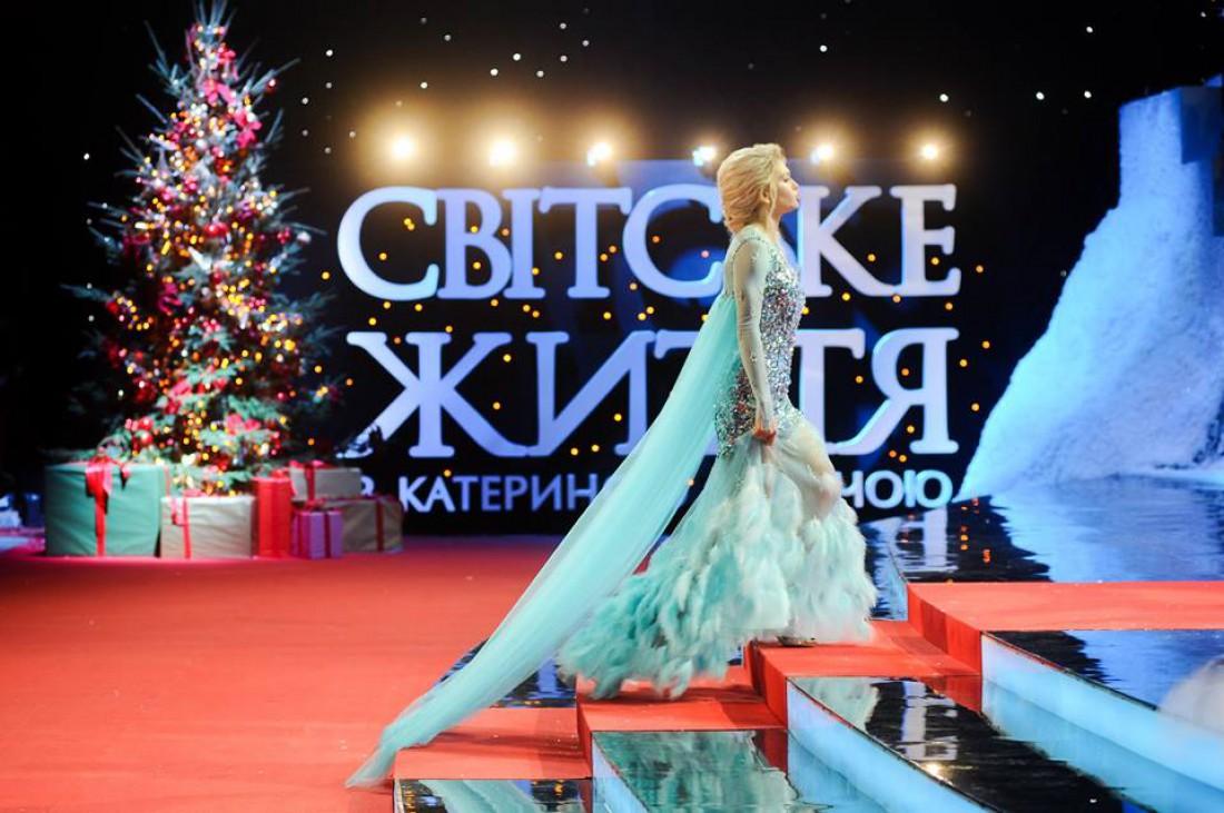 Певица Вера Брежнева в образе принцессы Эльзы