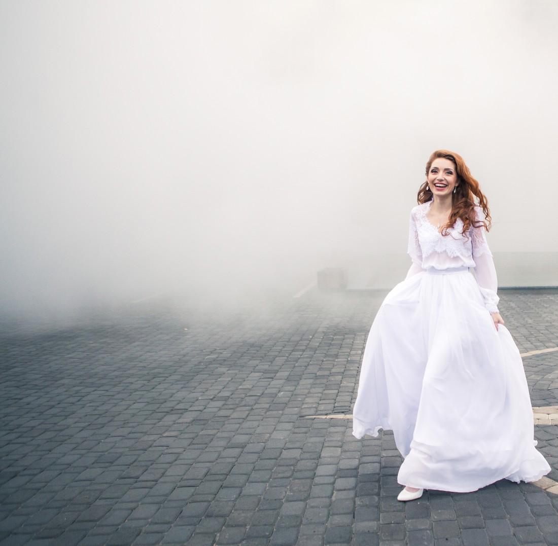Свадебное платье Светланы приглянулось фотографк из Wedding Magazine