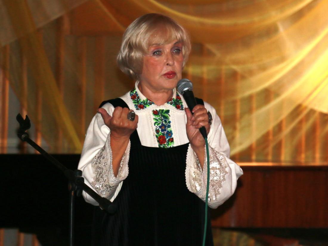 Украинская актриса Ада Роговцева