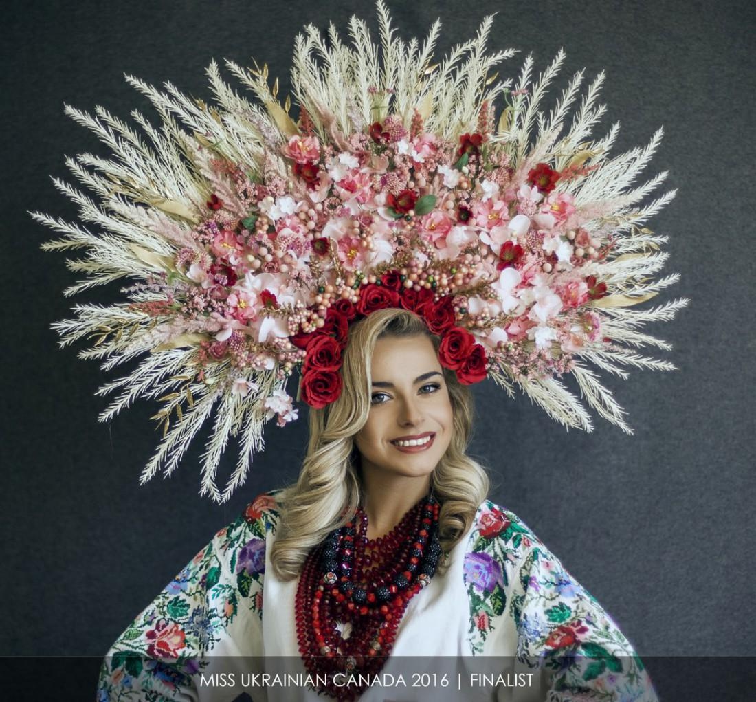 Победительница конкурса Мисс украинская Канада – Ирина Житарюк