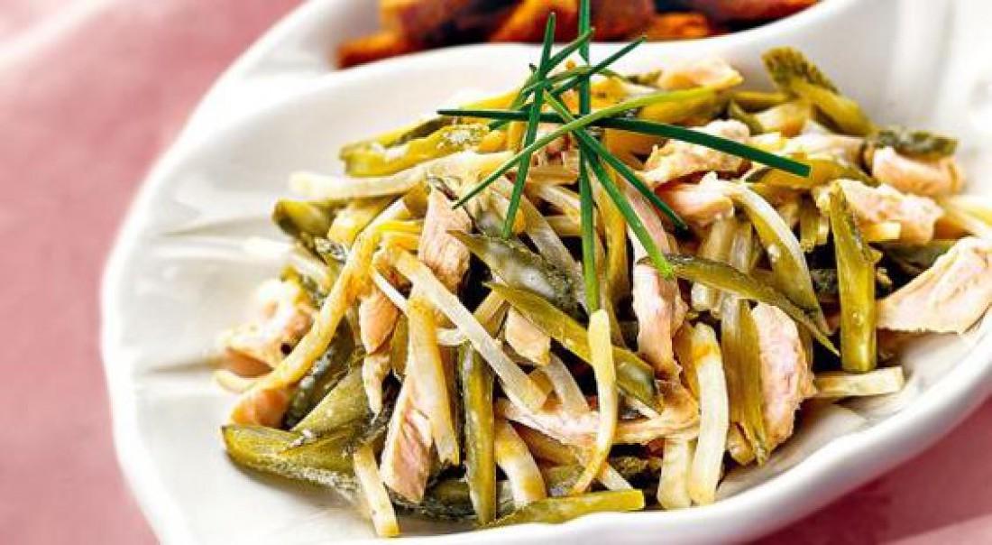 Салат на Пасху: Куриный салат с сельдереем