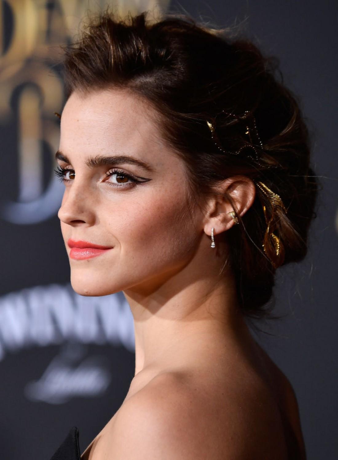 Актриса на мировой премьере Красавица и Чудовище
