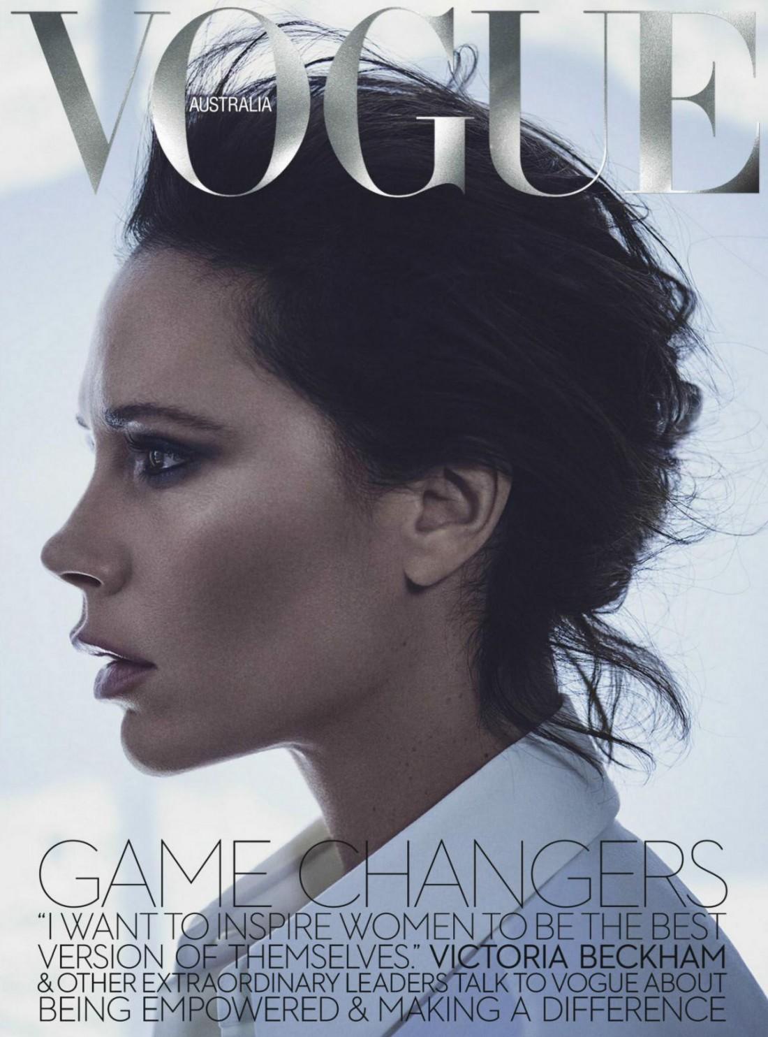 Виктория Бекхэм в новом фотосесте Vogue