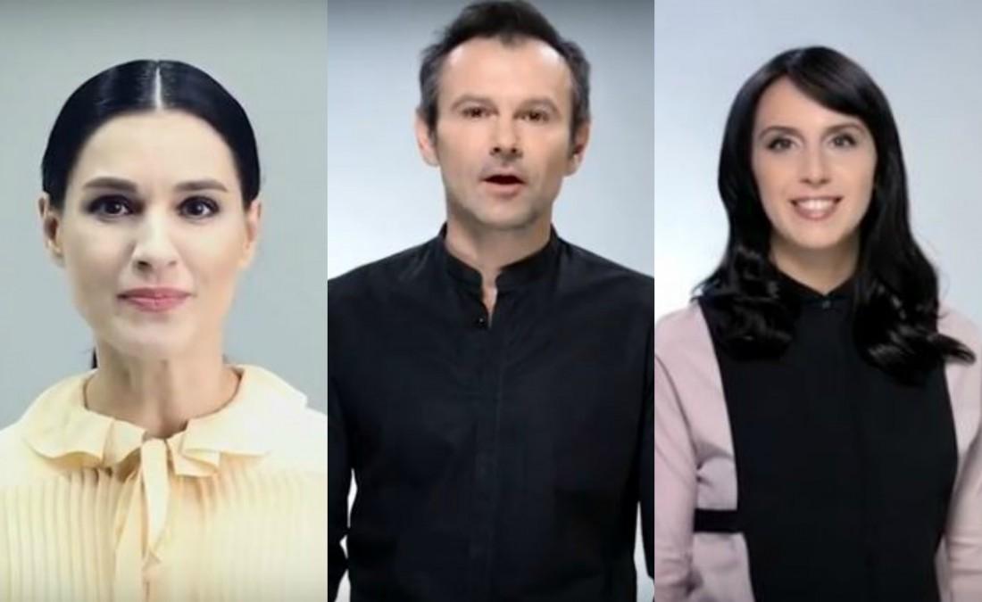Ефросинина, Вакарчук и Джамала снялись в социальном ролике ООН