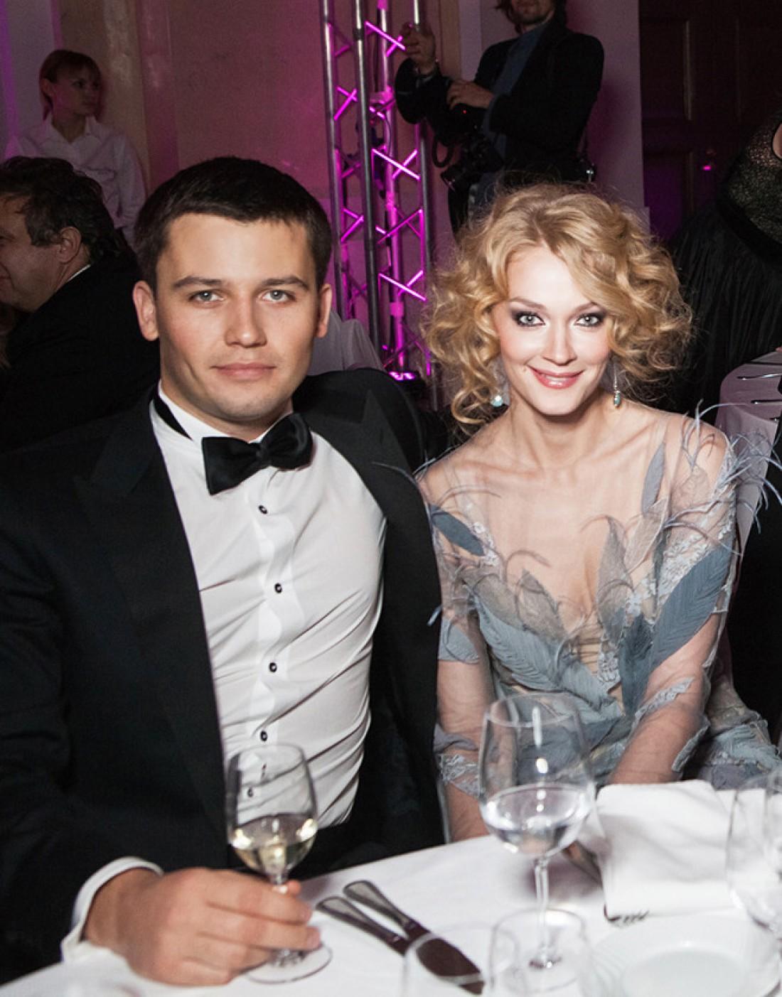 Светлана Ходченкова с Георгием Петришиным