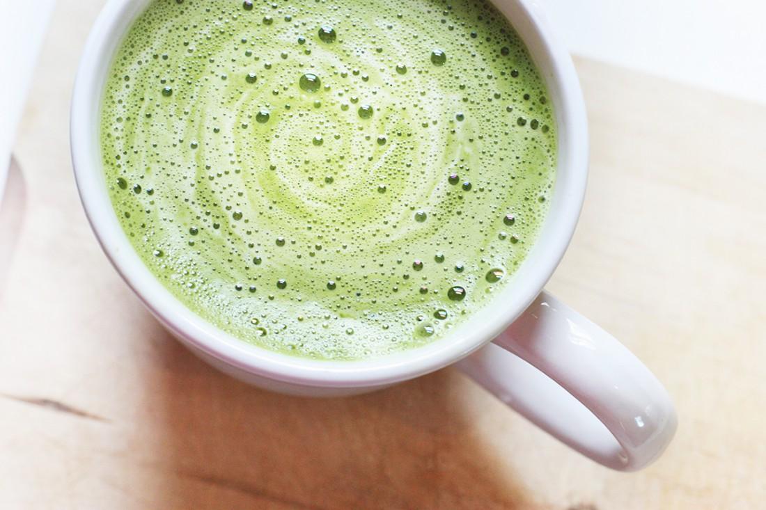 Зеленый чай  успокаивает воспалительные процессы