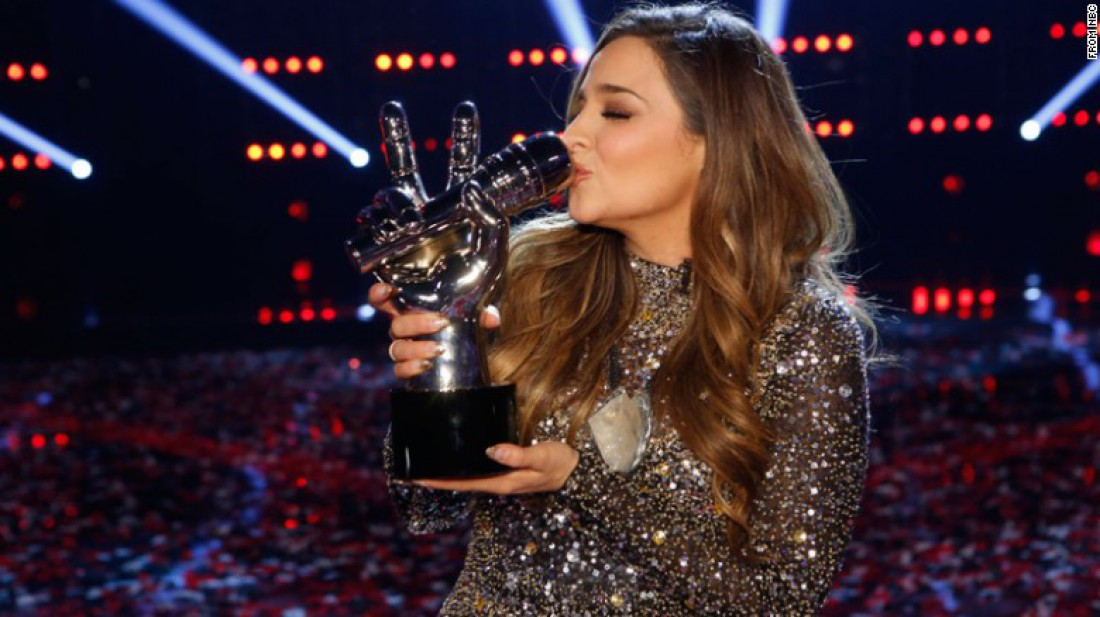 Элисон Портер победила в шоу Голос (США)