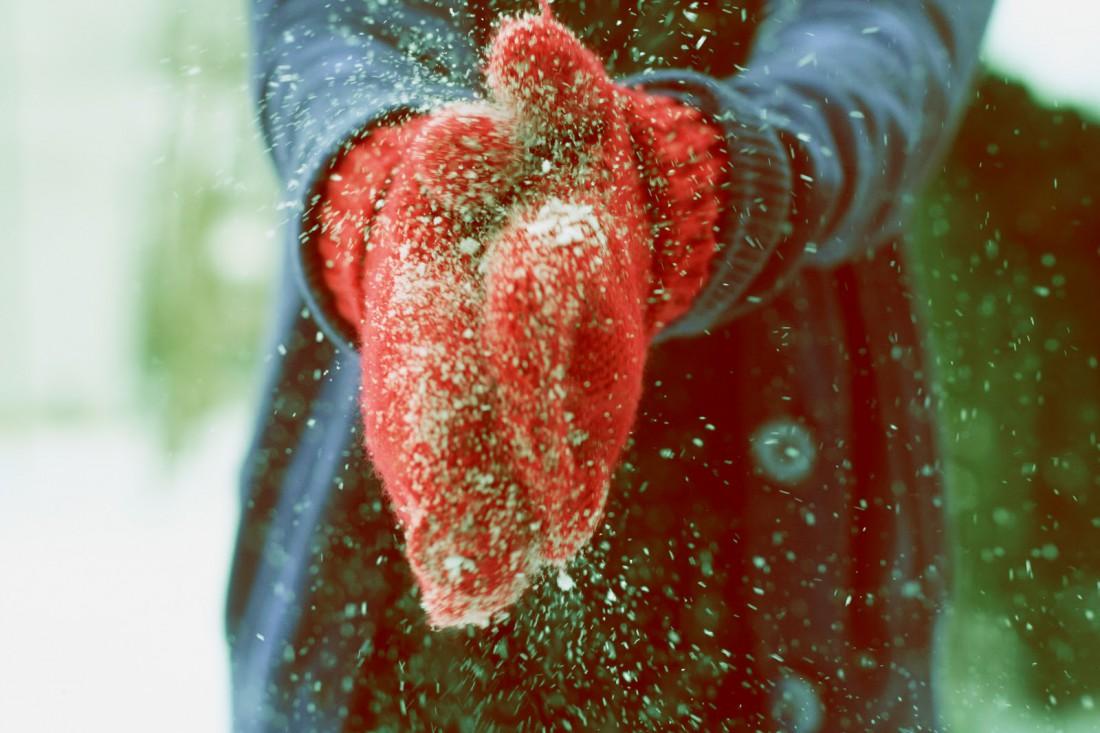 Не забывай носить зимой перчатки