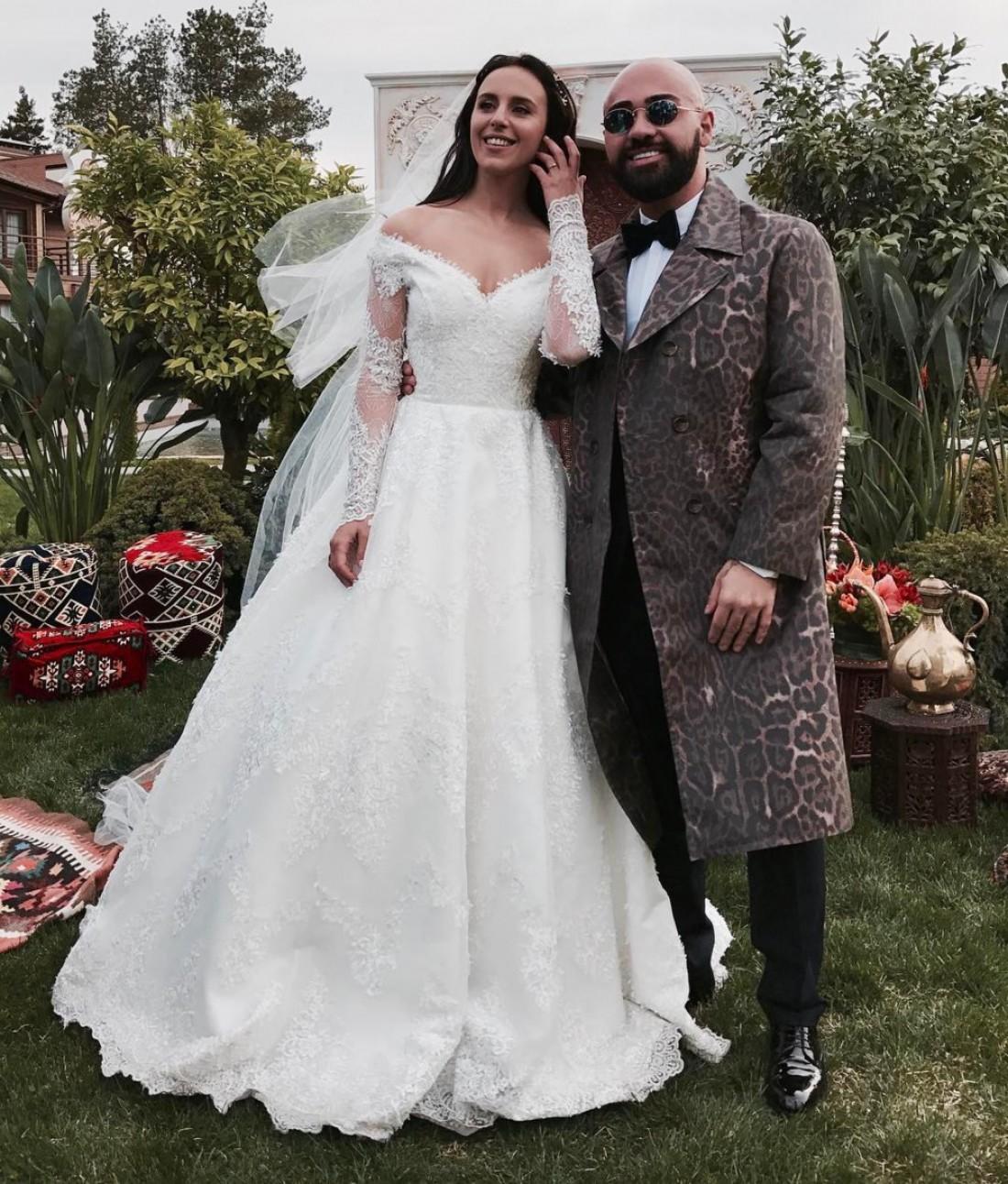 Грузинский свадебное платье