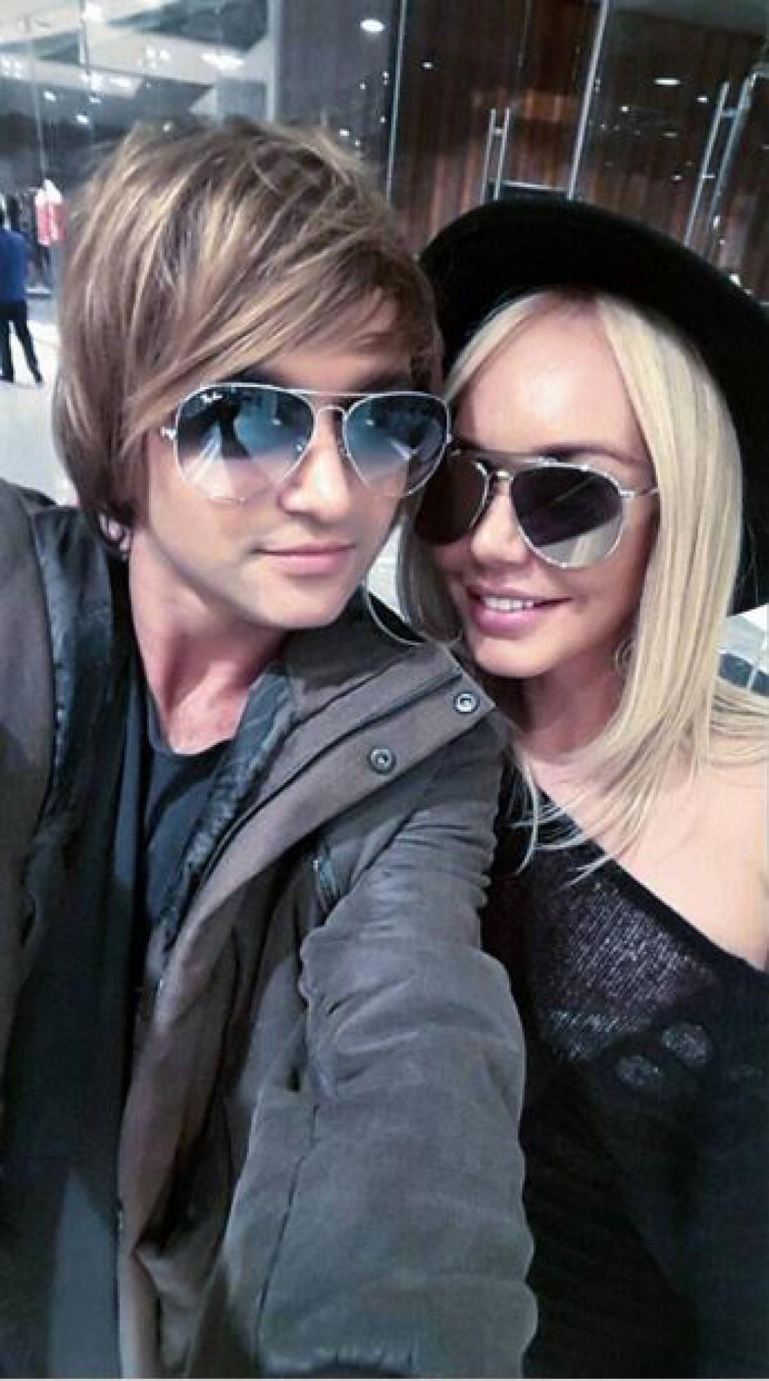 Тима Брик с Машей Малиновской