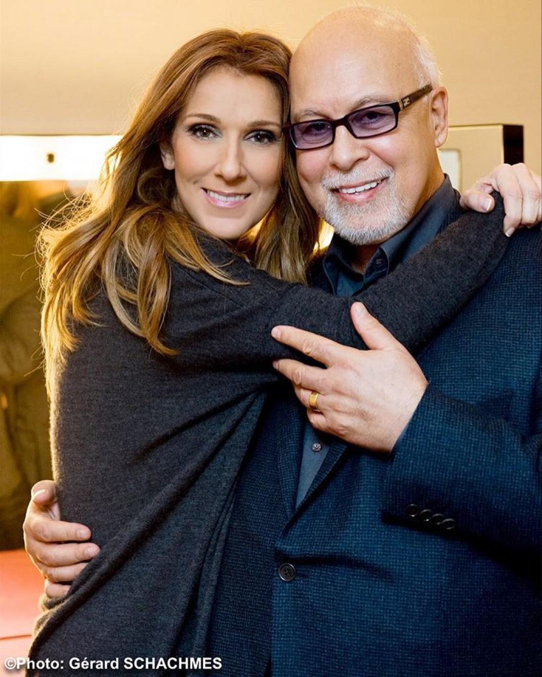Селин Дион с мужем Рене
