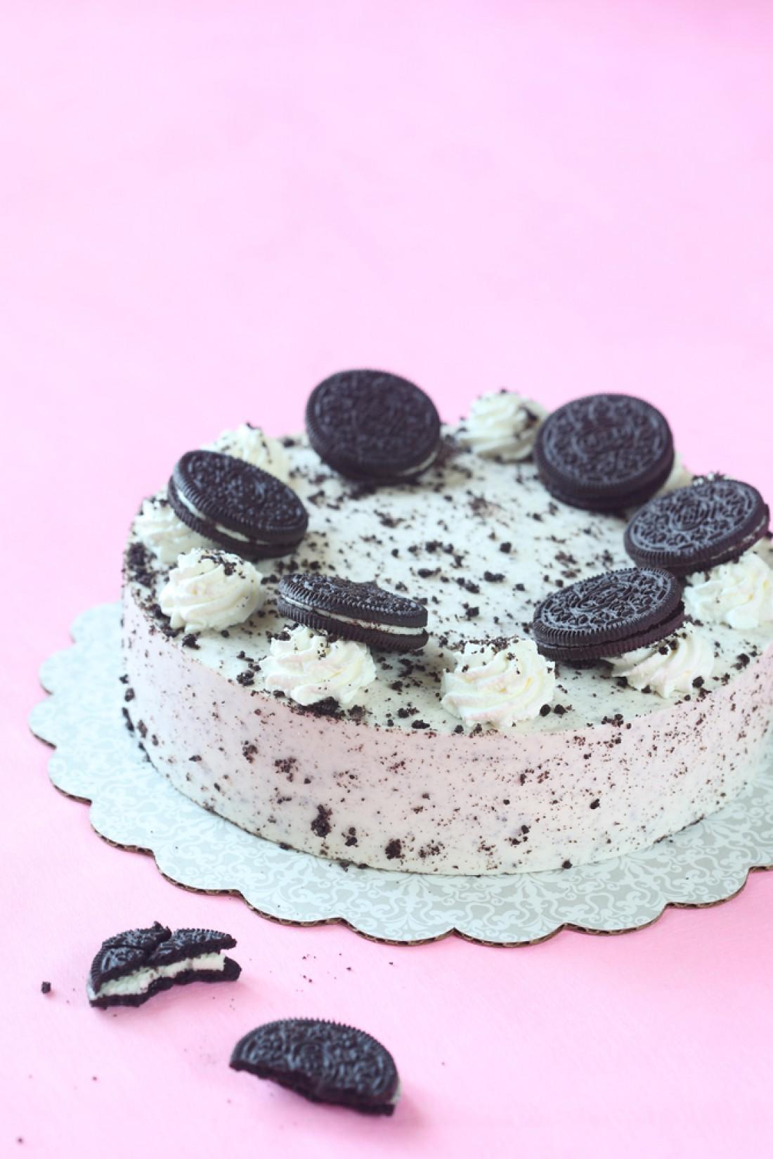 Торт-мороженое с Орео