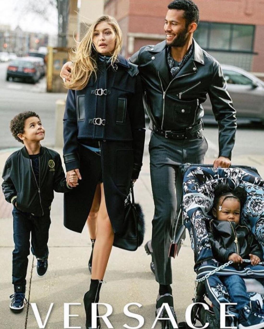 Рекламная кампания Versace Fall 2016