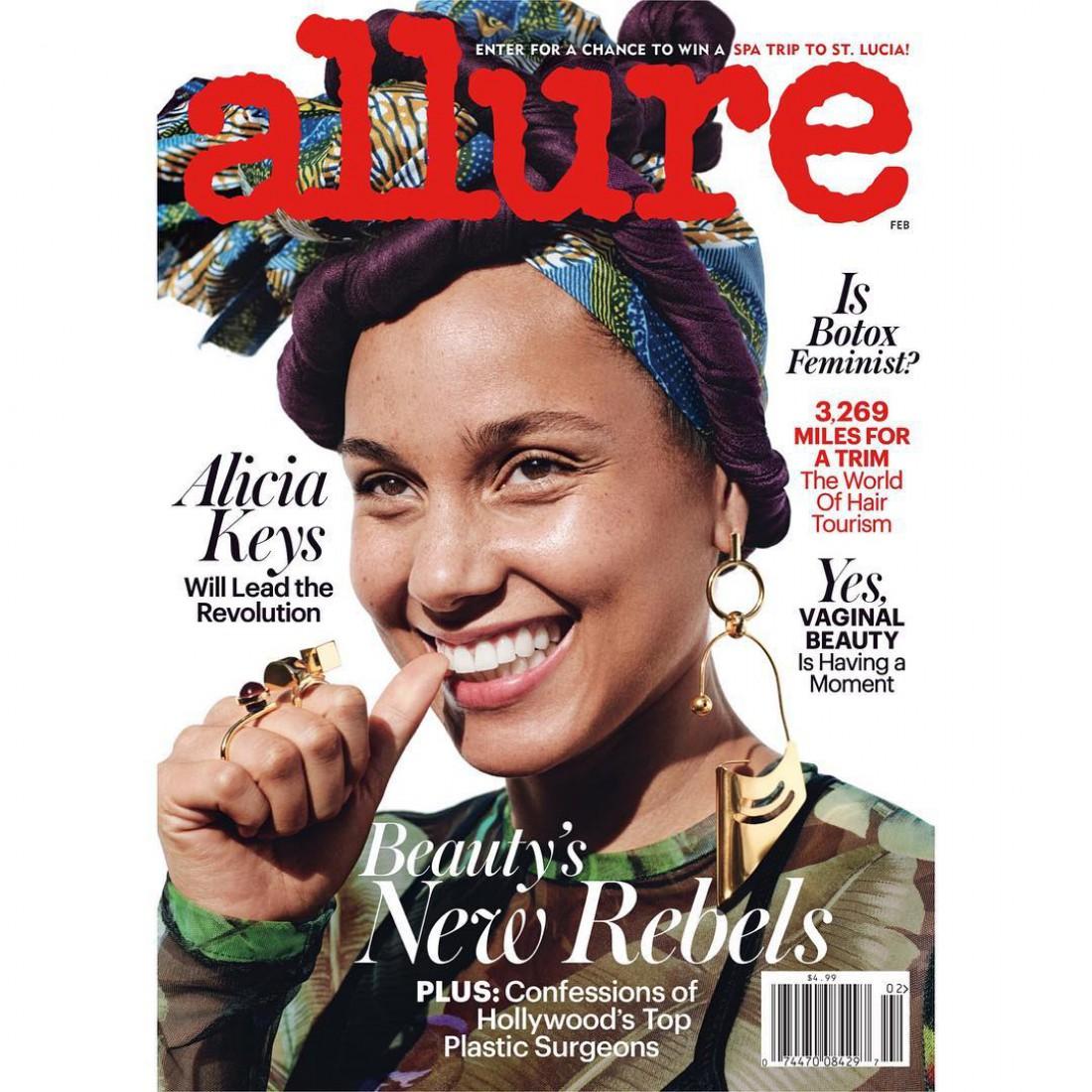 Алиша Киз на обложке журнала