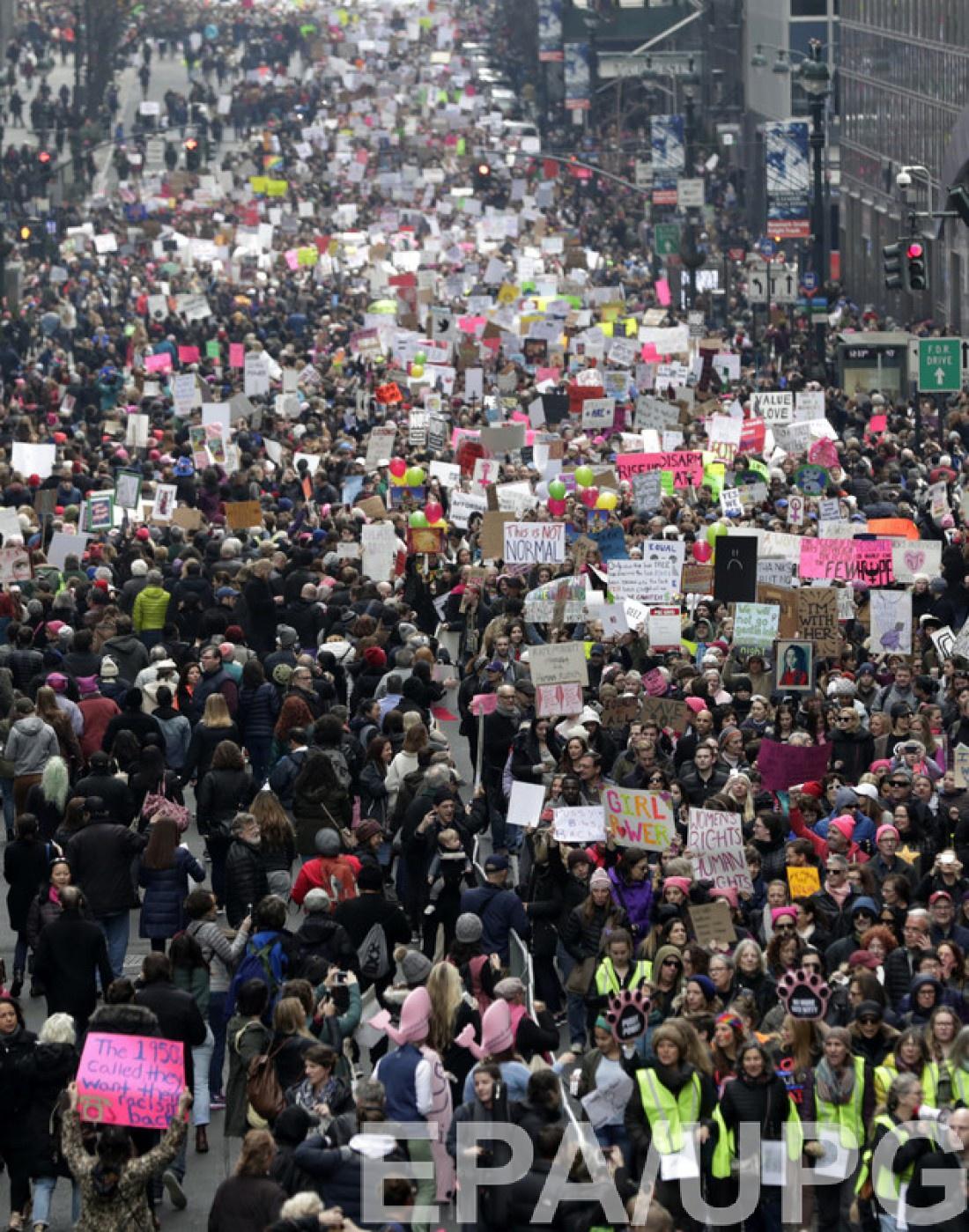 Марш собрал около 2,2 миллиона человек
