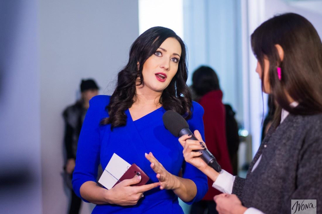 Соломия Витвицкая отдает предпочтение украинским дизайнерам