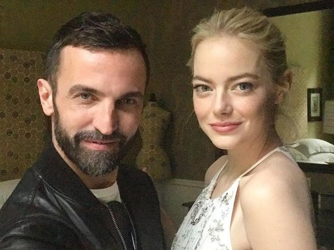 Николя Гескьер и Эмма Стоун