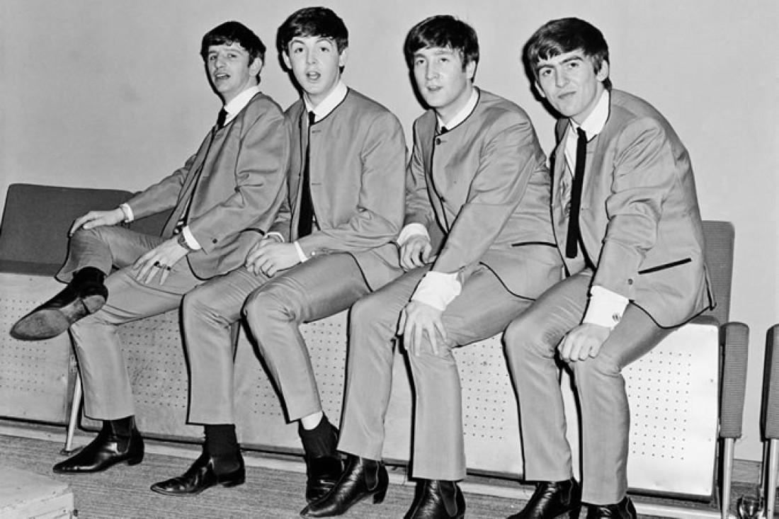 Группа The Beatles в ботинках челси