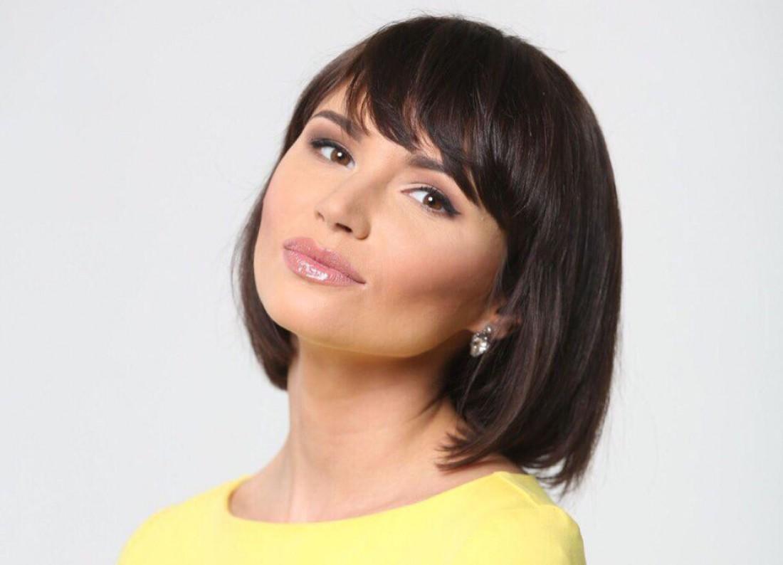 Ведущая утреннего шоу телеканала 112 Украина Екатерина Жукова