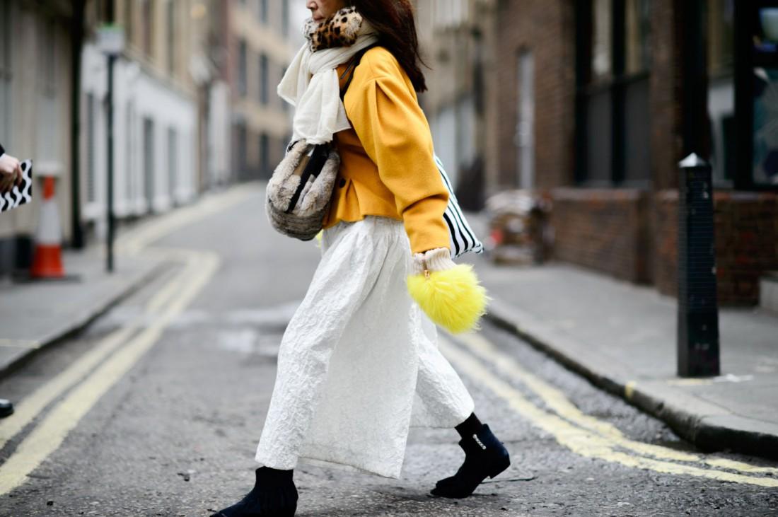 Гости Недели моды в Лондоне