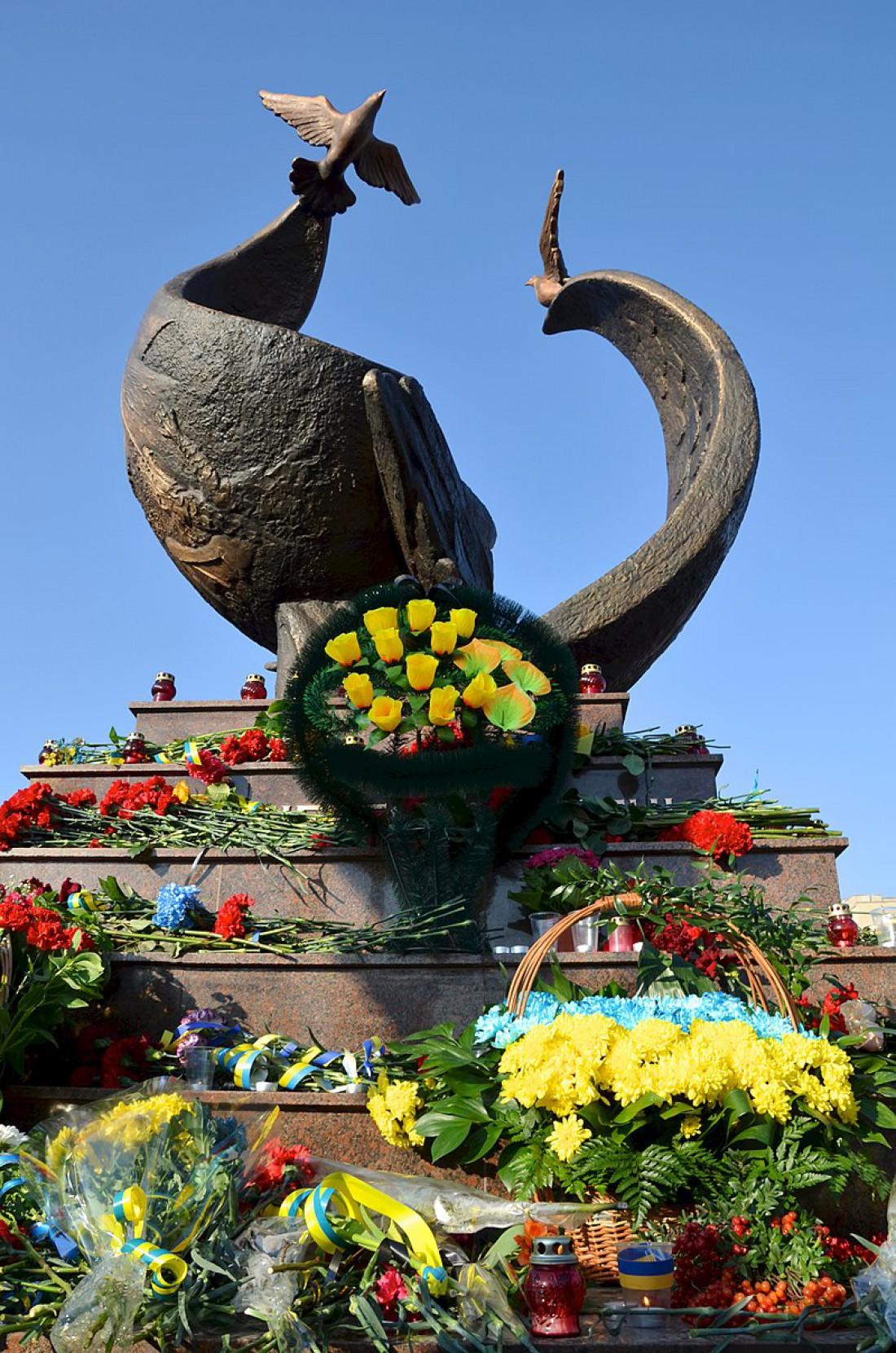 Памятник Небесной сотне в Николаеве