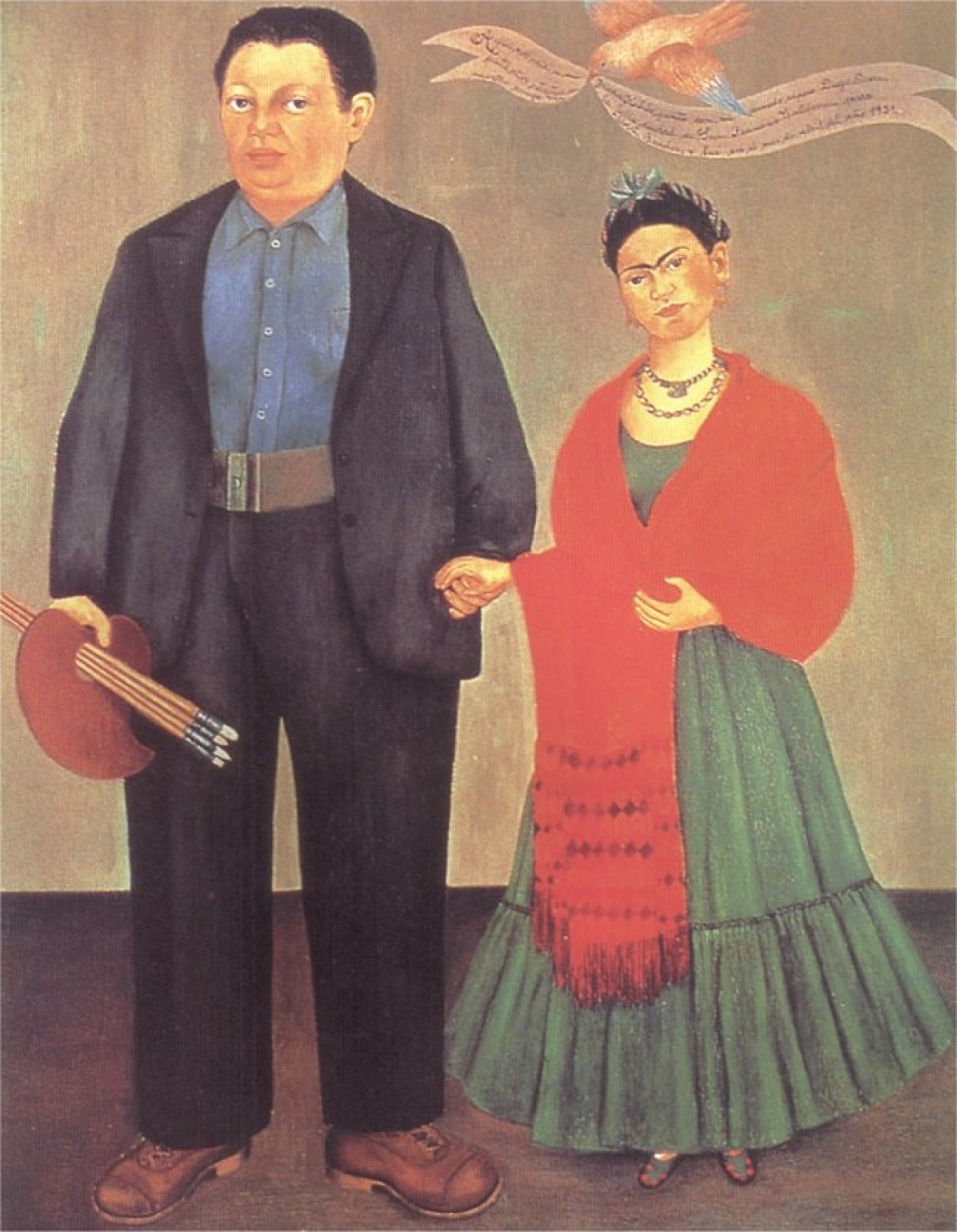 Frida and Diego Divera