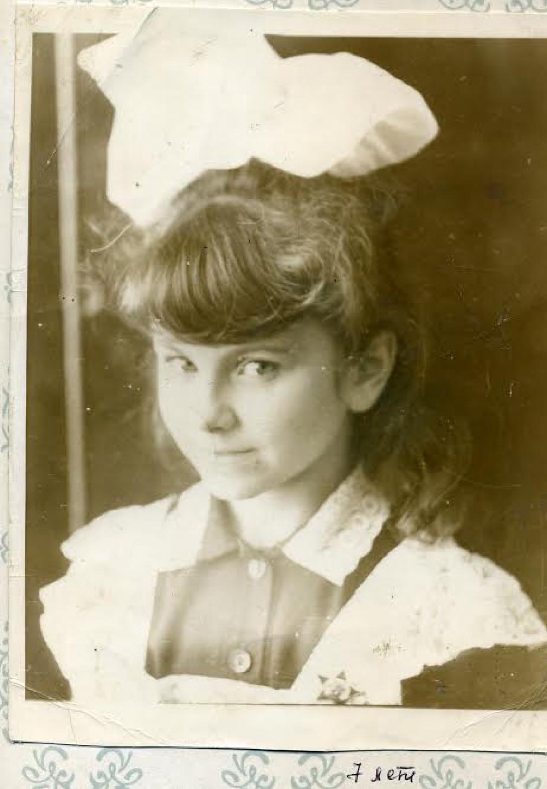 Ани Лорак 7 лет