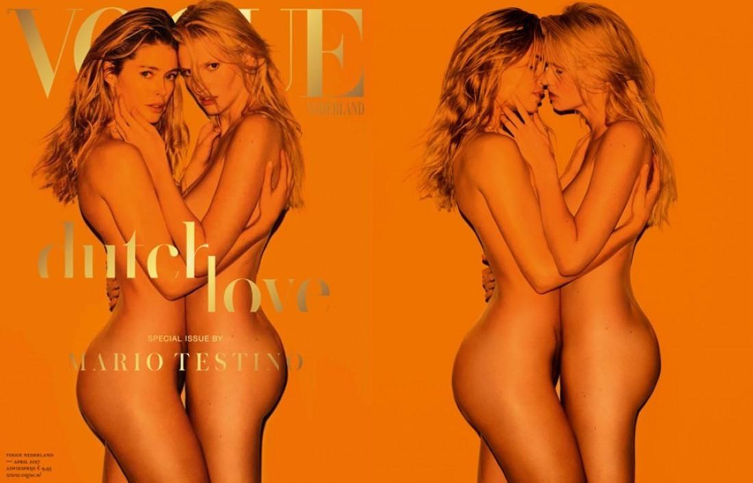 Даутцен Крез и Лара Стоун для Vogue Netherlands