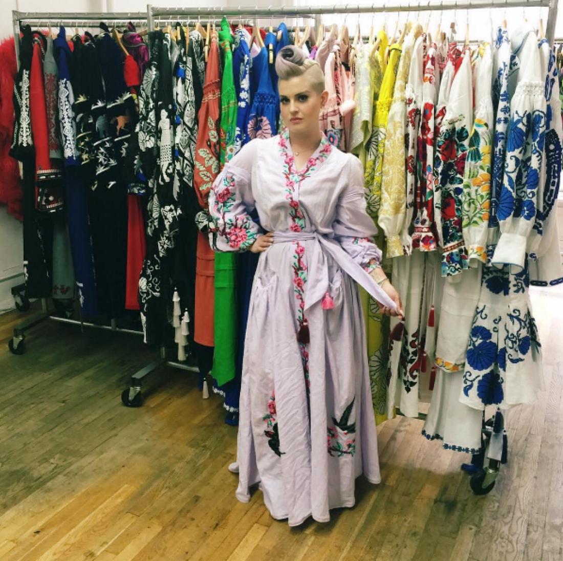 Телеведущая Келли Осборн отметила перспективу Украины на модном рынке