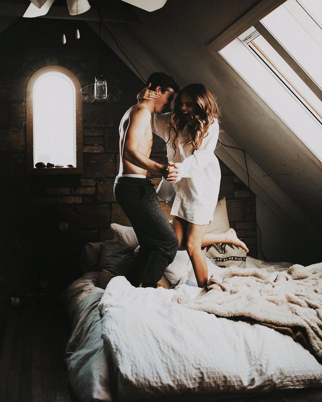 Спальня предназначена не только для секса