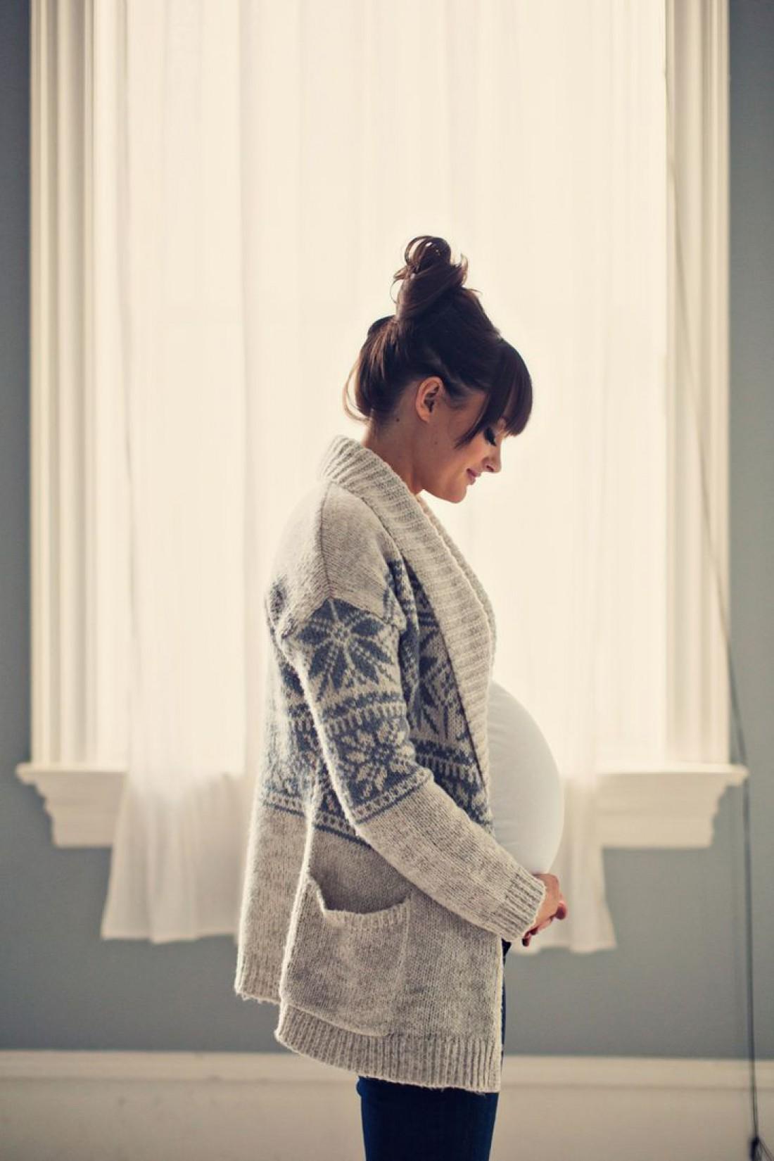 Беременность – лучшее время для модной нынче одежды oversize