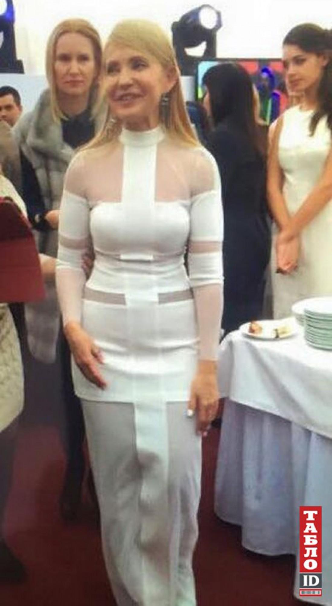Тимошенко в образе Лилу